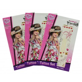 "Набор Тату наклеек ""Tattoo Set"" 2 вида 8100-36"