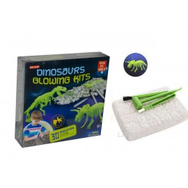 "Раскопки ""Dinosaur Glowing Kits"" Трицератопс"